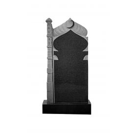 Сложный вертикальный памятник 35