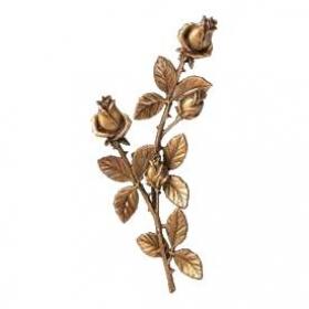 Цветок из бронзы 1