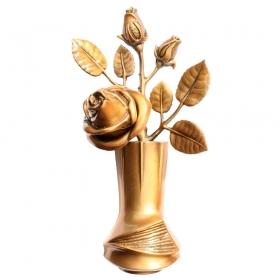 Цветок из бронзы 6