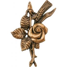 Цветок из бронзы 4