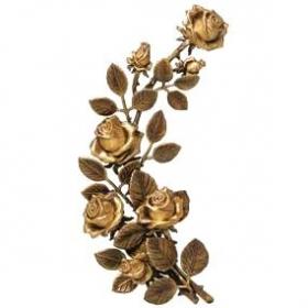 Цветок из бронзы 15
