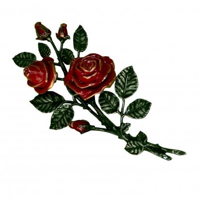 Цветок из бронзы 12