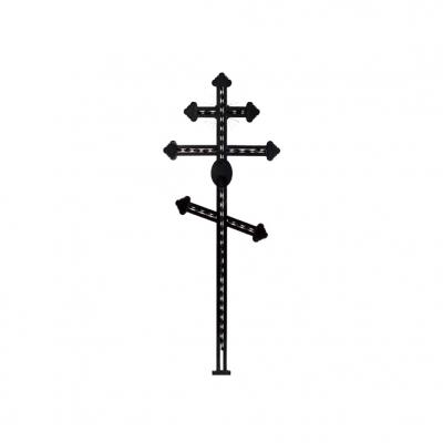 Крест металлический 1
