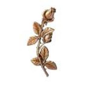 Цветок из бронзы 7