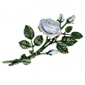 Цветок из бронзы 13