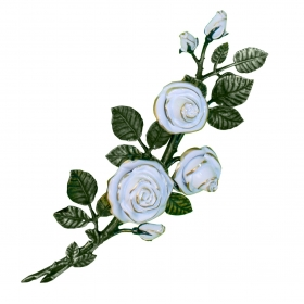 Цветок из бронзы 14