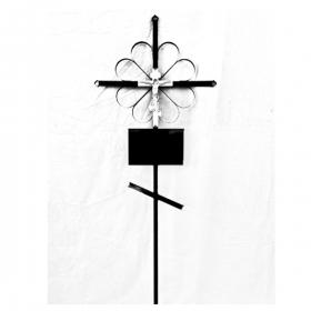 Крест металлический 3
